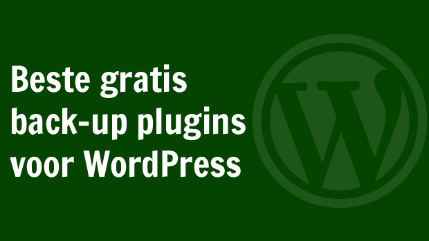 WordPress back-up plugins