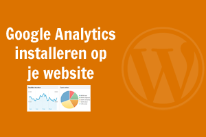 Google Analytics installeren op WordPress