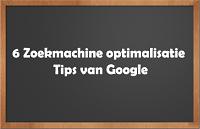 Zoekmachine optimalisatie tips van Google