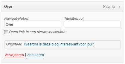 hoe open je een link in een nieuw tabblad in wordpress