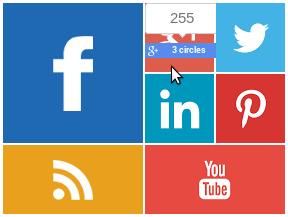 Metro style social media