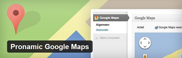Pronamic Google Maps