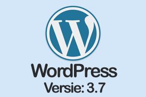 Wat is nieuw in wordpress 3.7