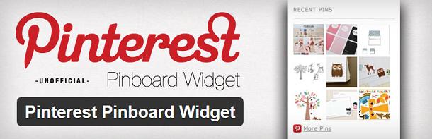 Pinterest Pinboard Widget