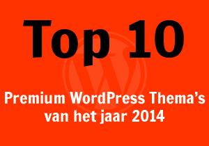 Top 10 premium WordPress thema's van het jaar 2014
