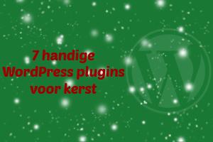 WordPress kerst plugins