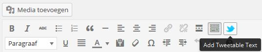 Tweetable box maken