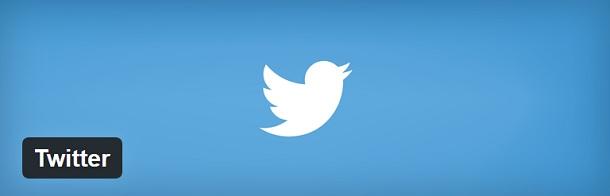 Officiële Twitter plugin voor WordPress