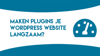 Maken plugins je WordPress website traag?