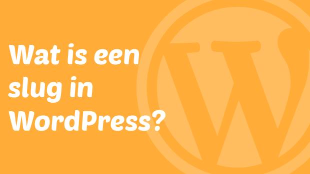 Wat is een slug in WordPress?