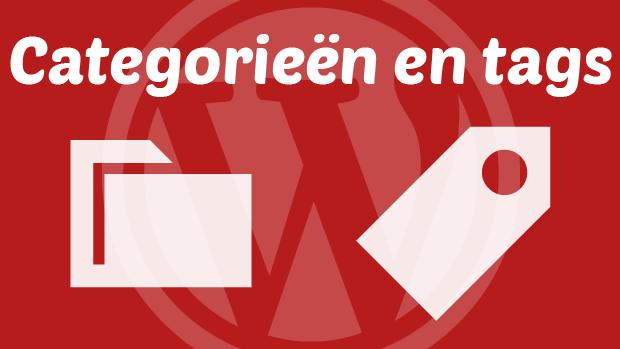 WordPress categorieën en tags