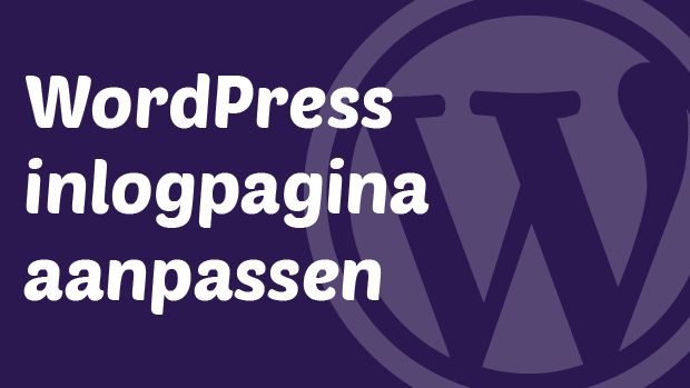 WordPress inlogpagina aanpassen