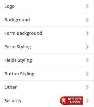 Instellingen om inlogpagina van WordPress aan te passen in de customizer