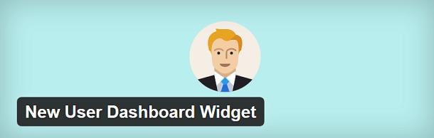 New User Dashboard Widget