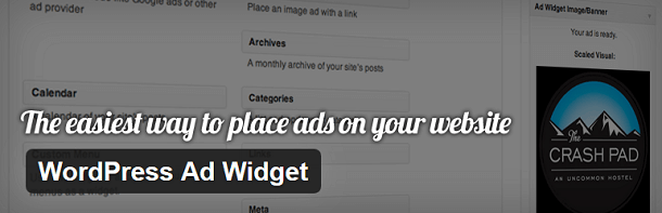 WordPress Ad Widget