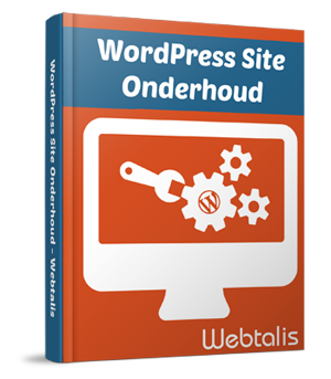 WordPress Site Onderhoud ebook