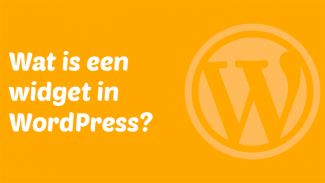 Wat is een widget in WordPress?