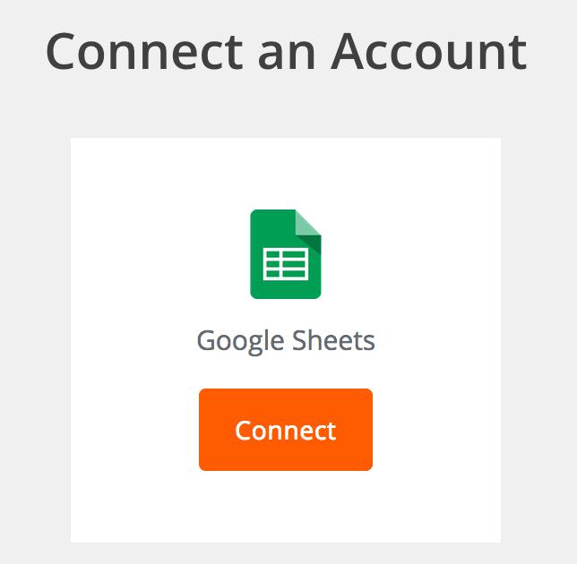 Zapier connectie met Google Sheets maken
