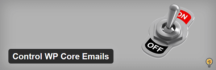 Control WP Core Emails