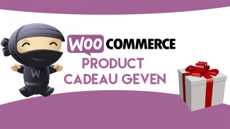 Product cadeau geven in WooCommerce
