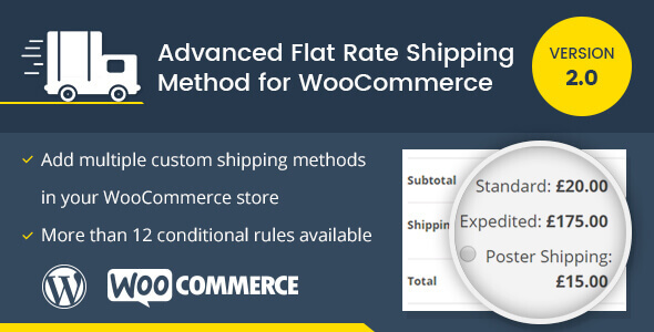 Advance Flat Rate Shipping Method