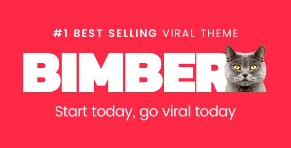 Bimber, een WordPress thema voor virale artikelen