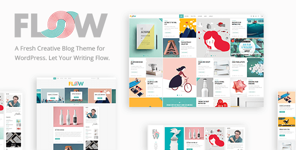 WordPress thema Flow
