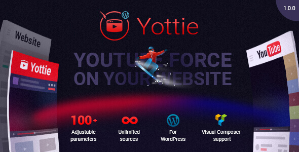 YouTube Plugin Yottie
