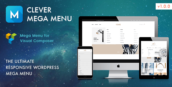 Clever Mega Menu for Visual Composer