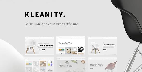 Kleanity WordPress Thema