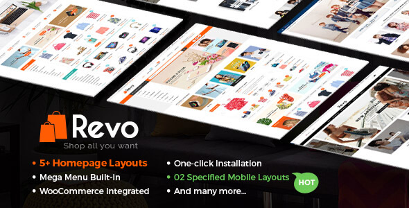 Revo WordPress Thema