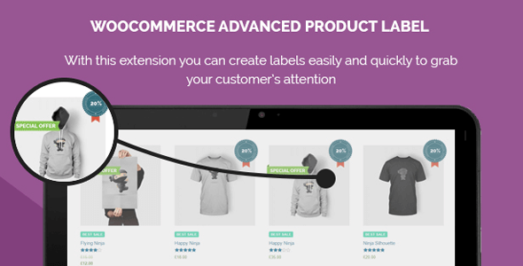 WooCommerce Advanced Product Label