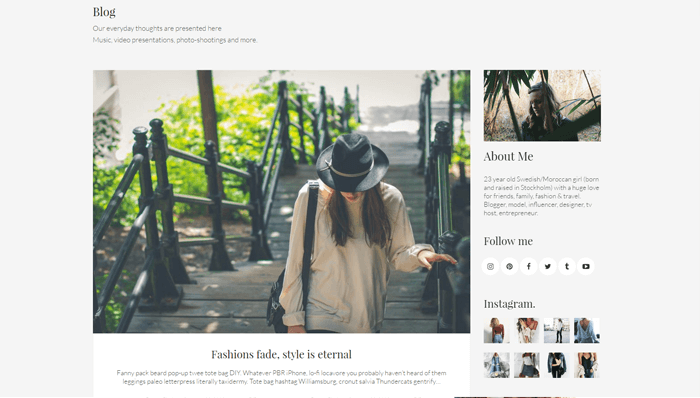 Kalium WordPress Thema