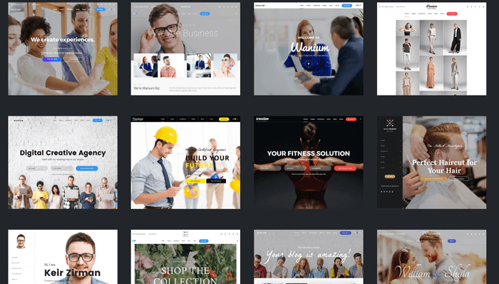 Wanium WordPress Thema