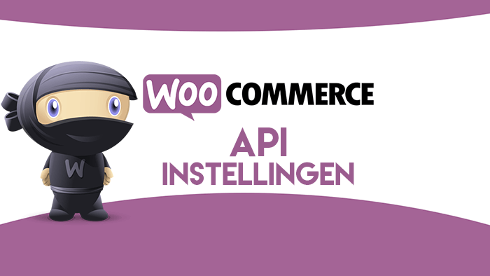 WooCommerce API-instellingen