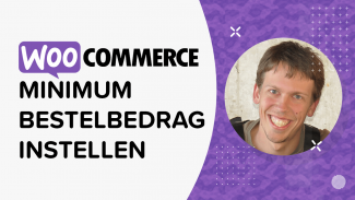 Minimum bestelbedrag instellen in WooCommerce