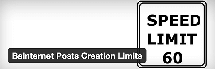 Posts Creation limits