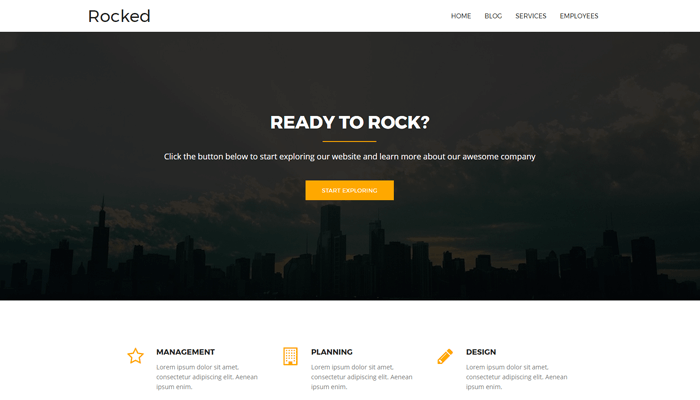 Rocked WordPress Thema