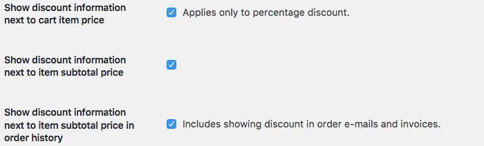 WooCommerce bulk discount instellingen 2