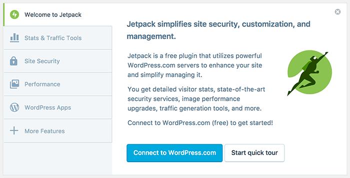 Jetpack verbinden met WordPress.com
