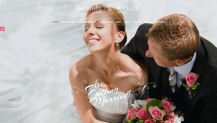 Honeymoon & Wedding Thema