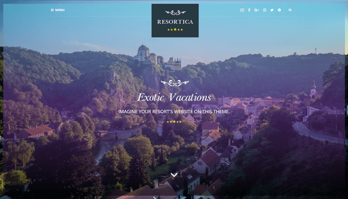 Resortica Lite WordPress Thema