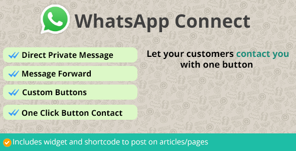 WhatsApp Connect Plugin