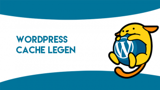 WordPress cache legen
