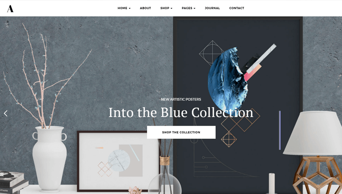 Artday WordPress Thema