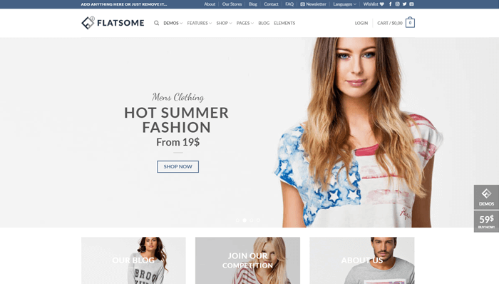 Flatsome WordPress Thema
