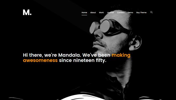 Mandala Thema
