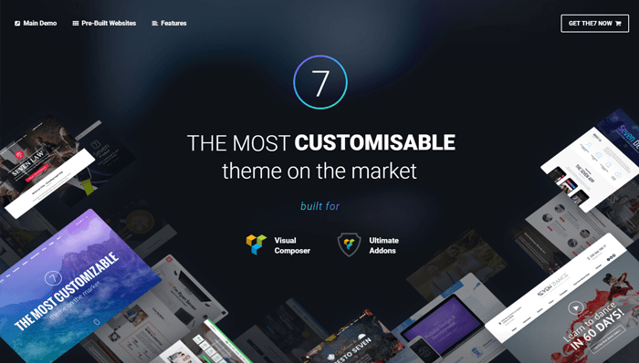 The7 WordPress Thema