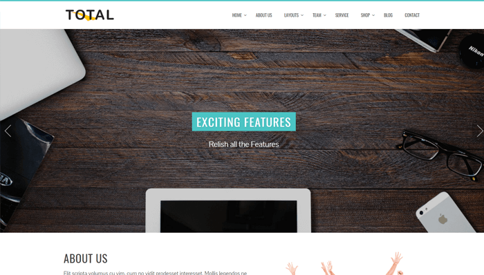 Total WordPress Thema