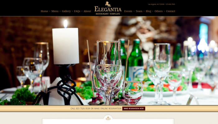 Elegantie WordPress Thema